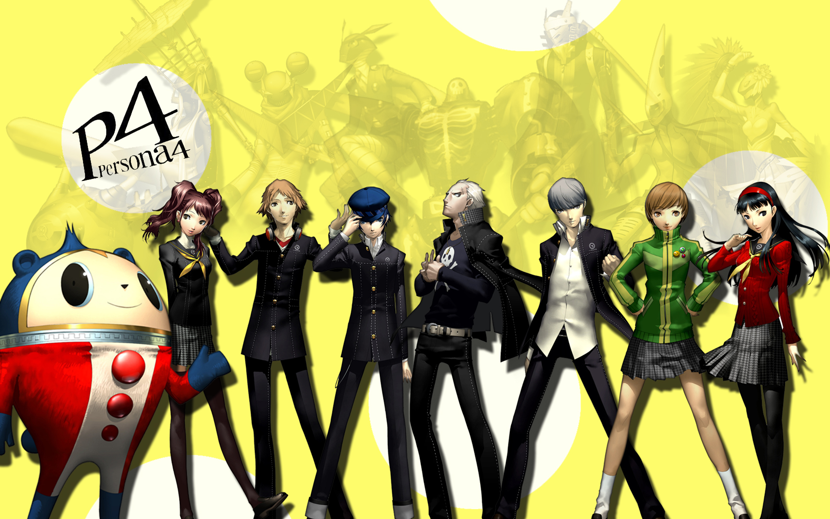 Persona 4 Anime Characters : Pin persona on pinterest